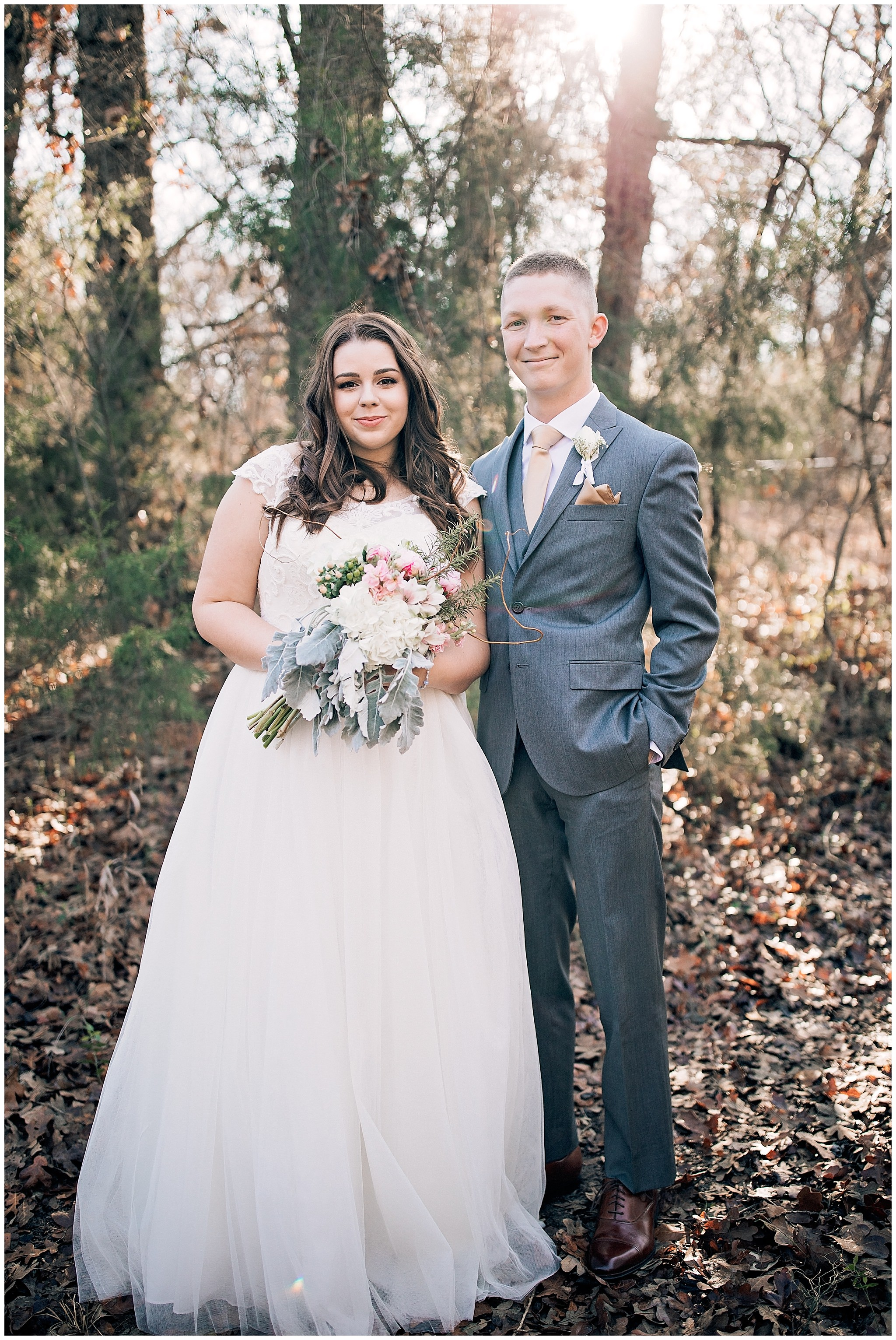 Gorgeous wedding photos in the countryside of TX