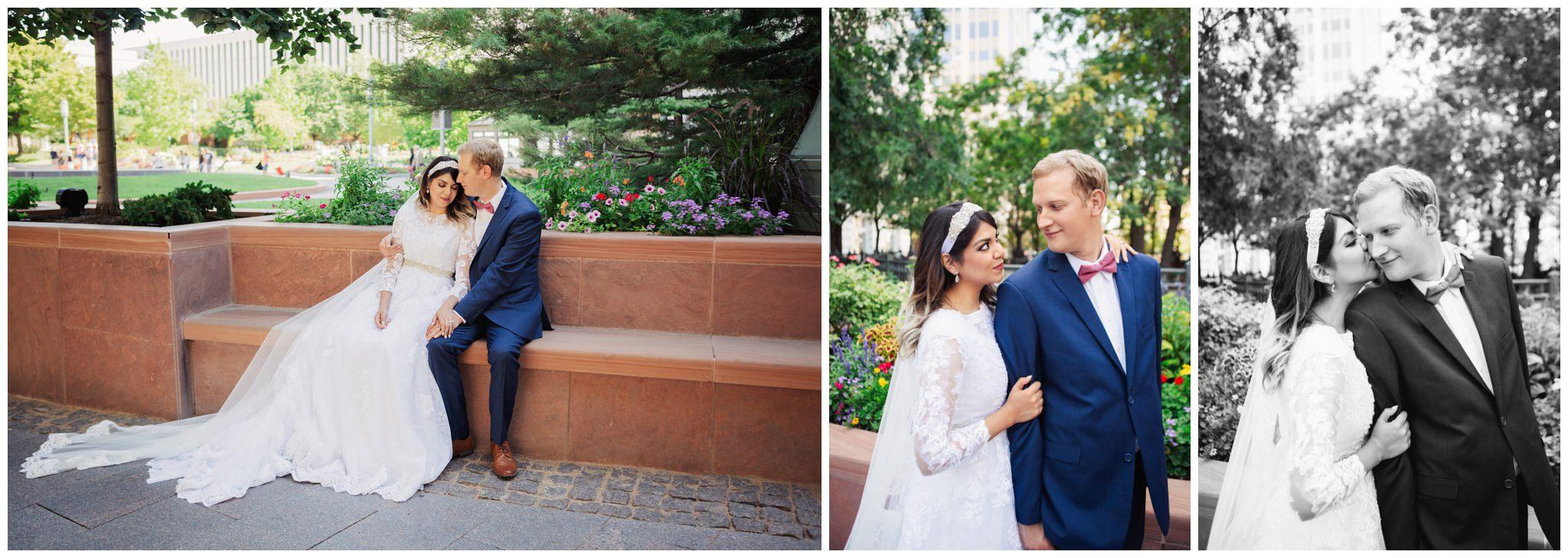 SLC Temple Wedding Formals
