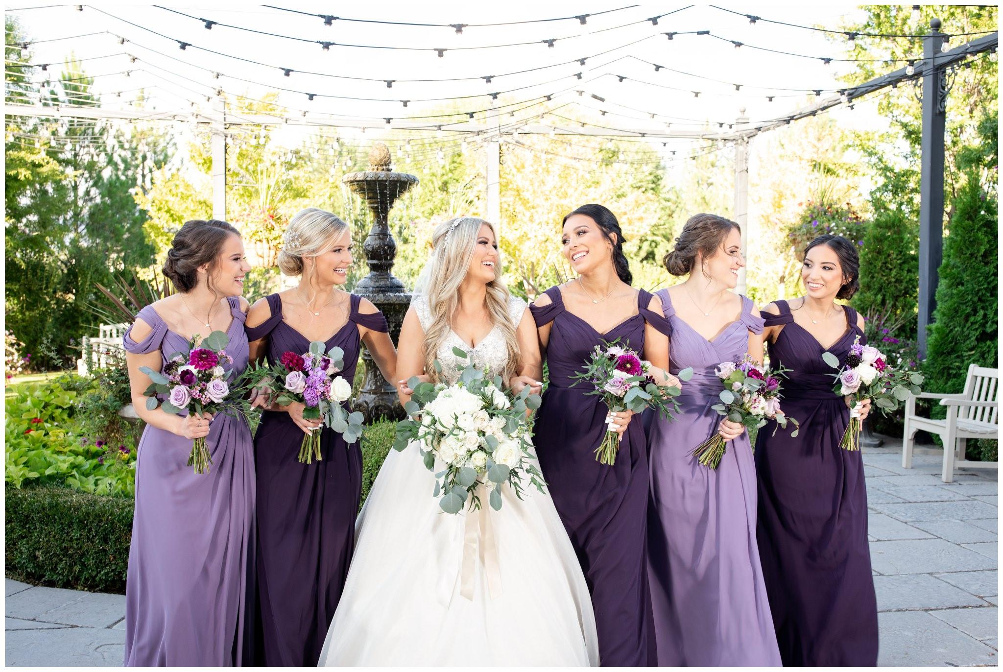Bridesmaids pictures at Sleepy ridge