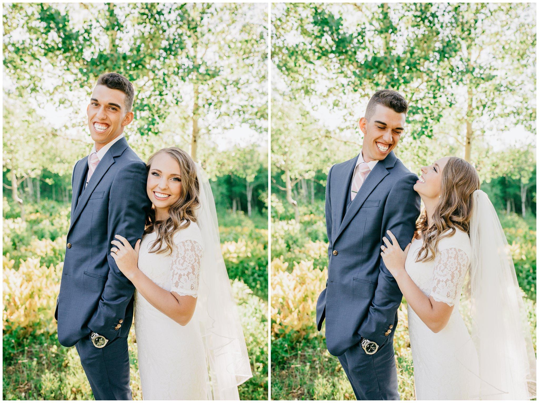 Summer bridals in provo canyo, utah
