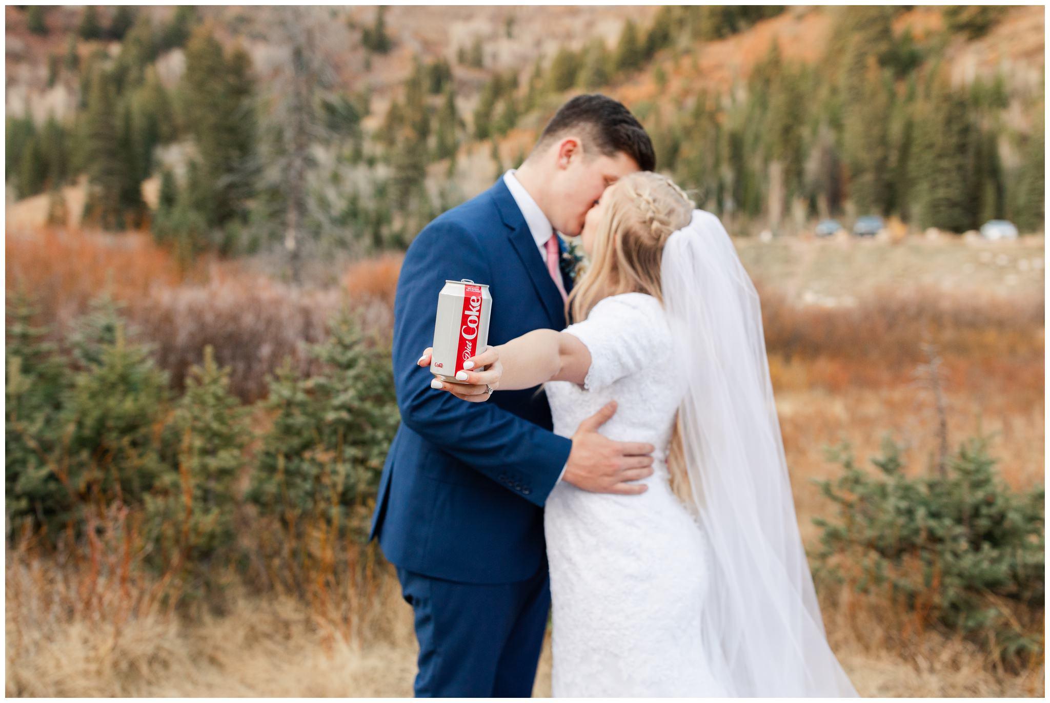 Coca-cola Wedding photos