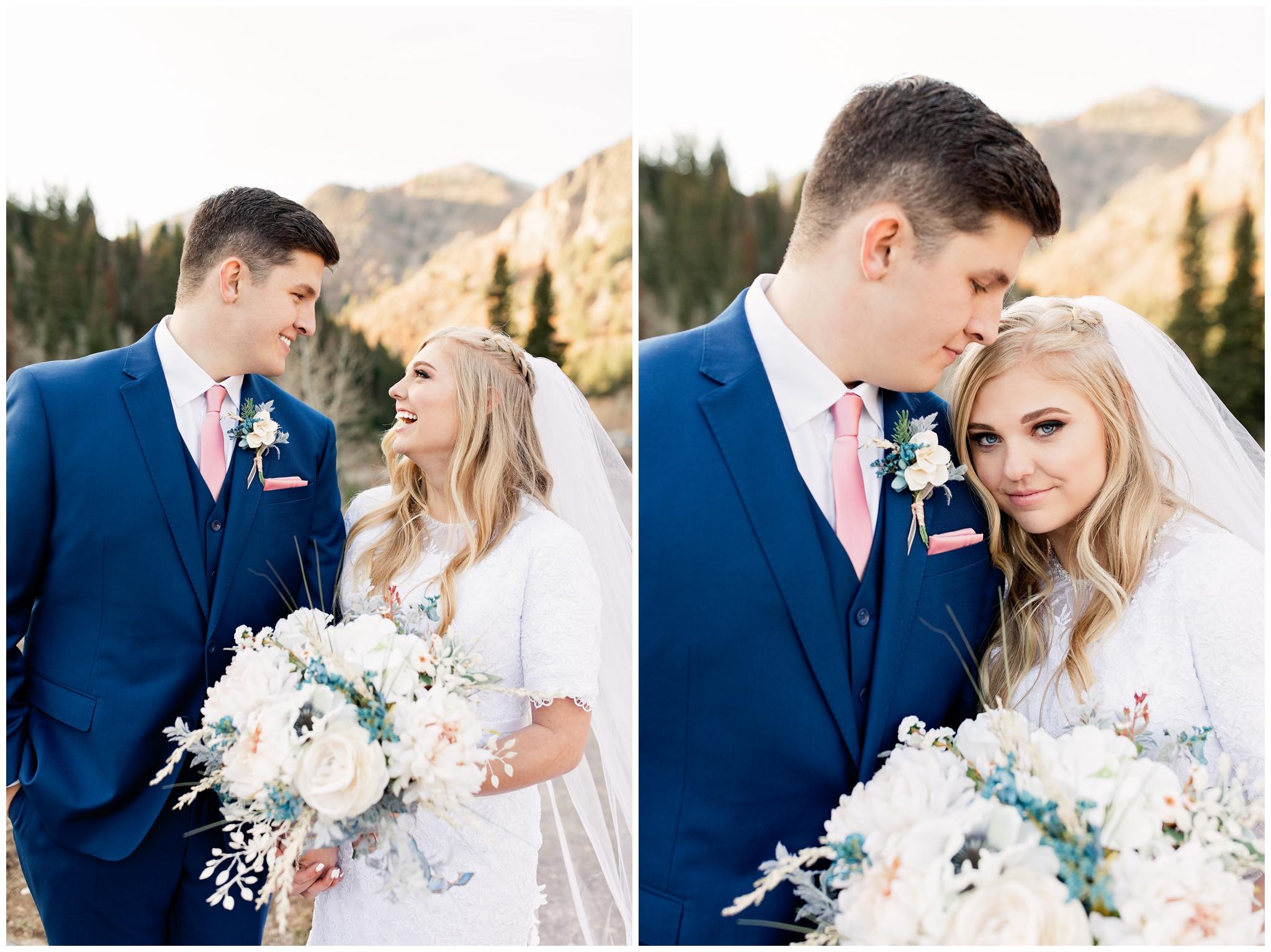 Fall bridal portraits