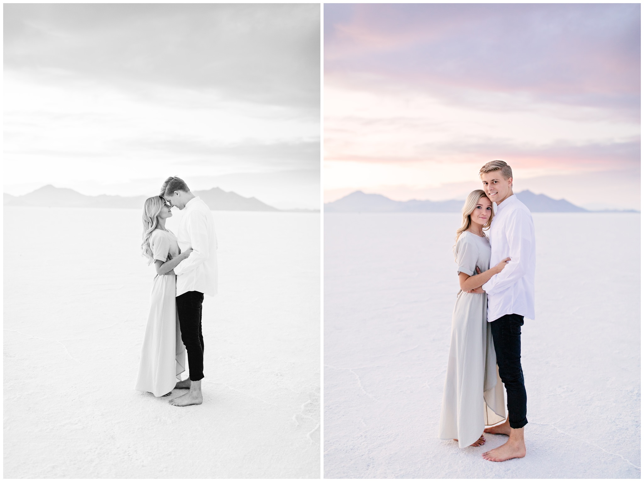 beautiful sky engagement session