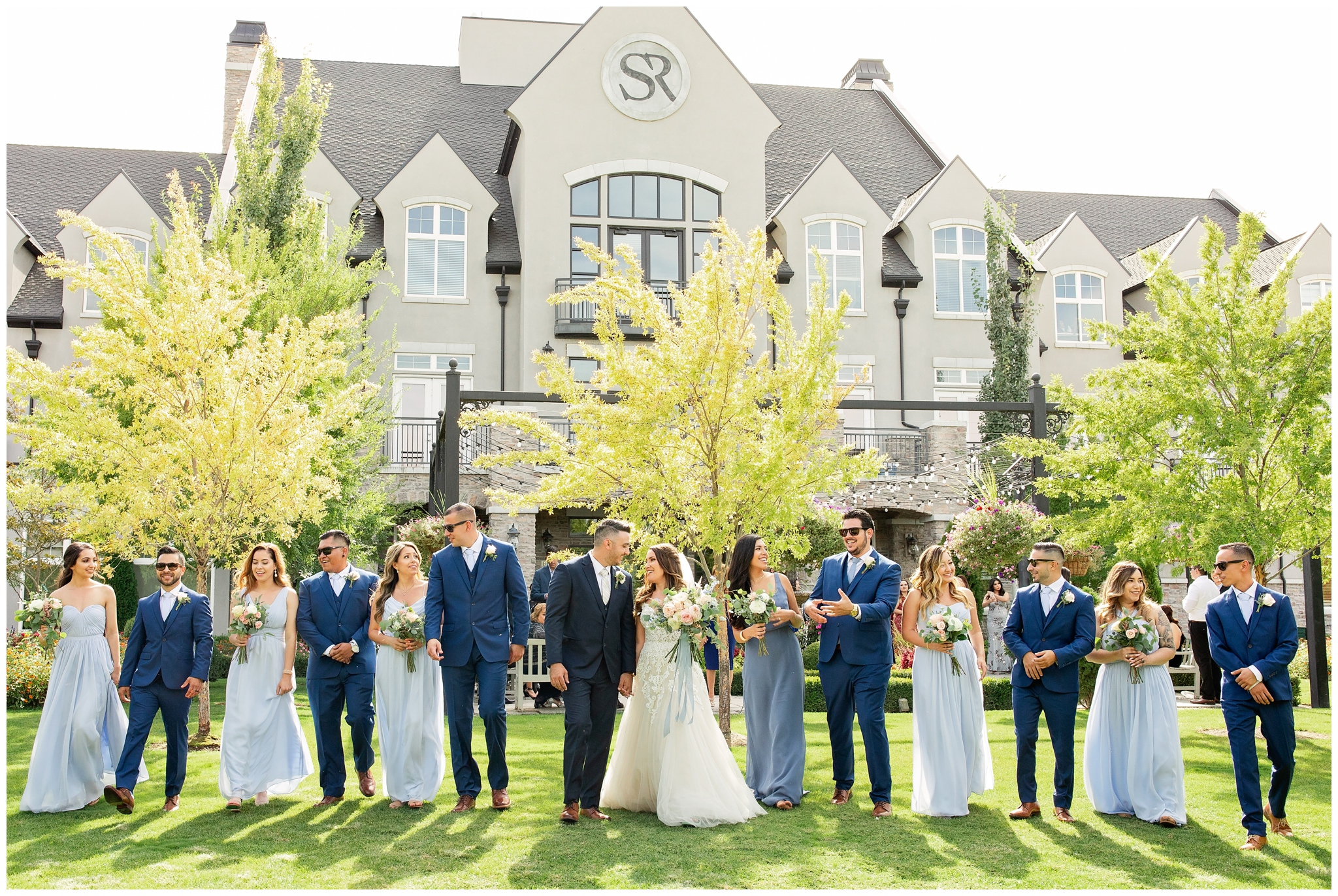 Wedding Party photo at Sleepy Ridge Wedding Venue
