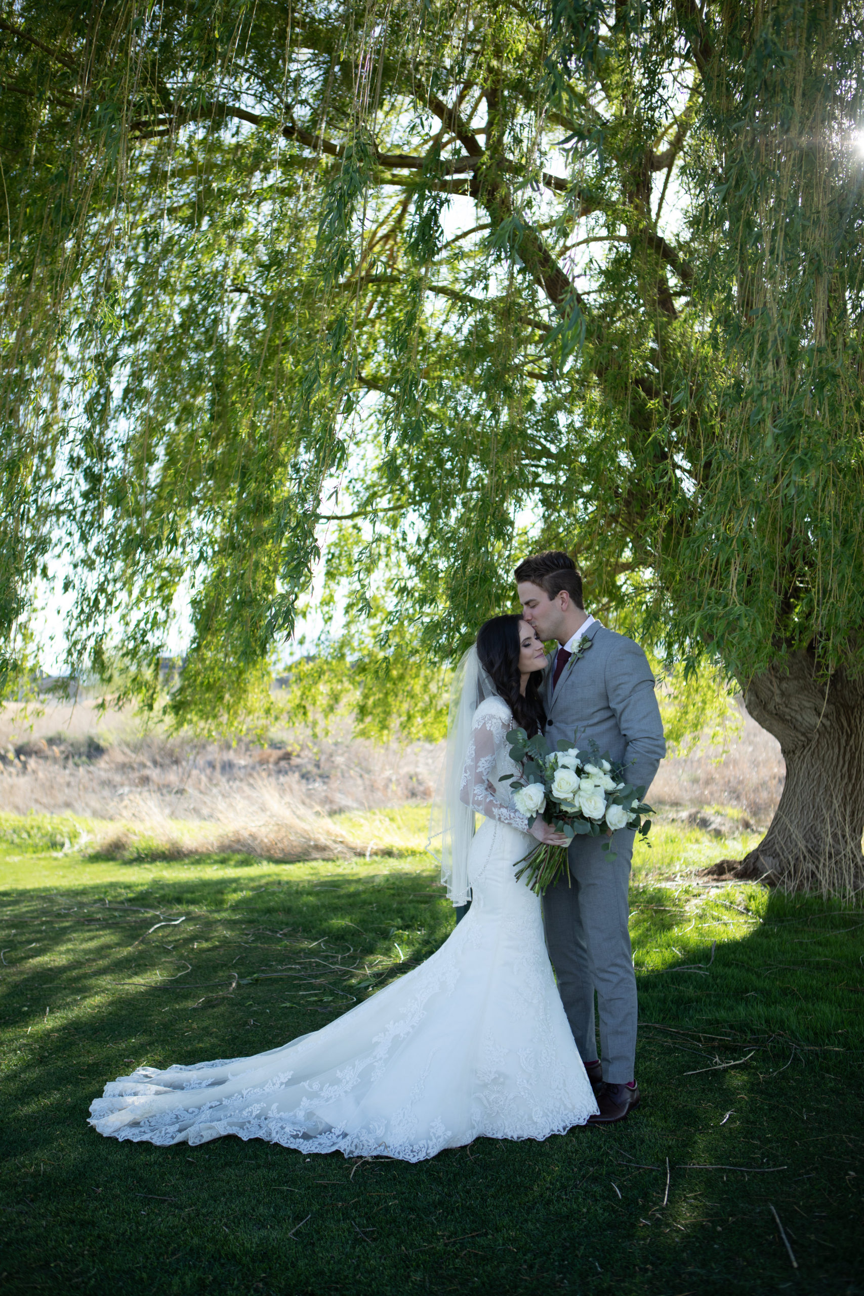 Sleepy Ridge Wedding Willow Tree