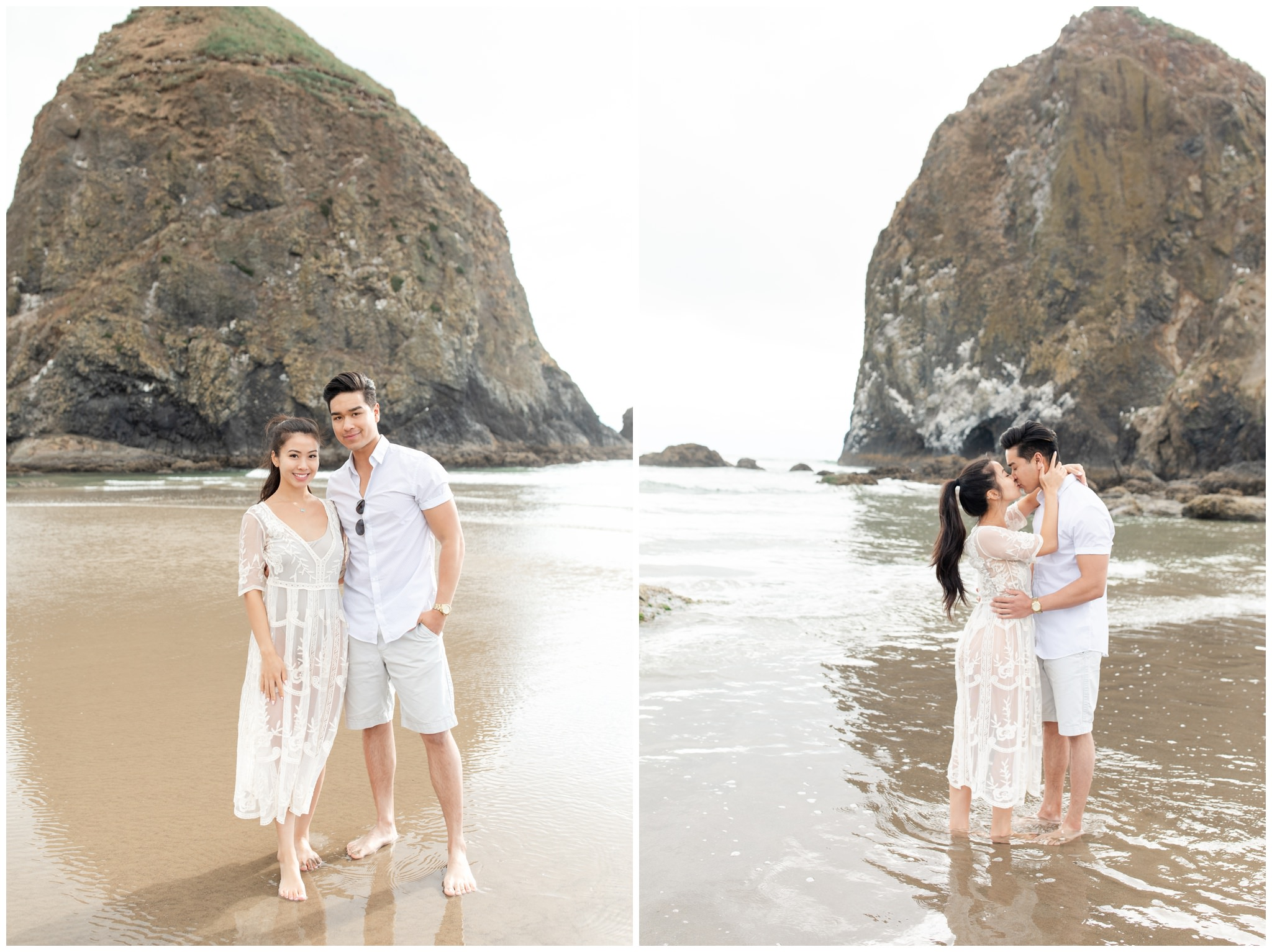 Cannon Beach engagements