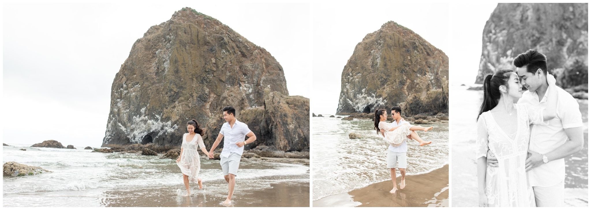 Beach water engagements