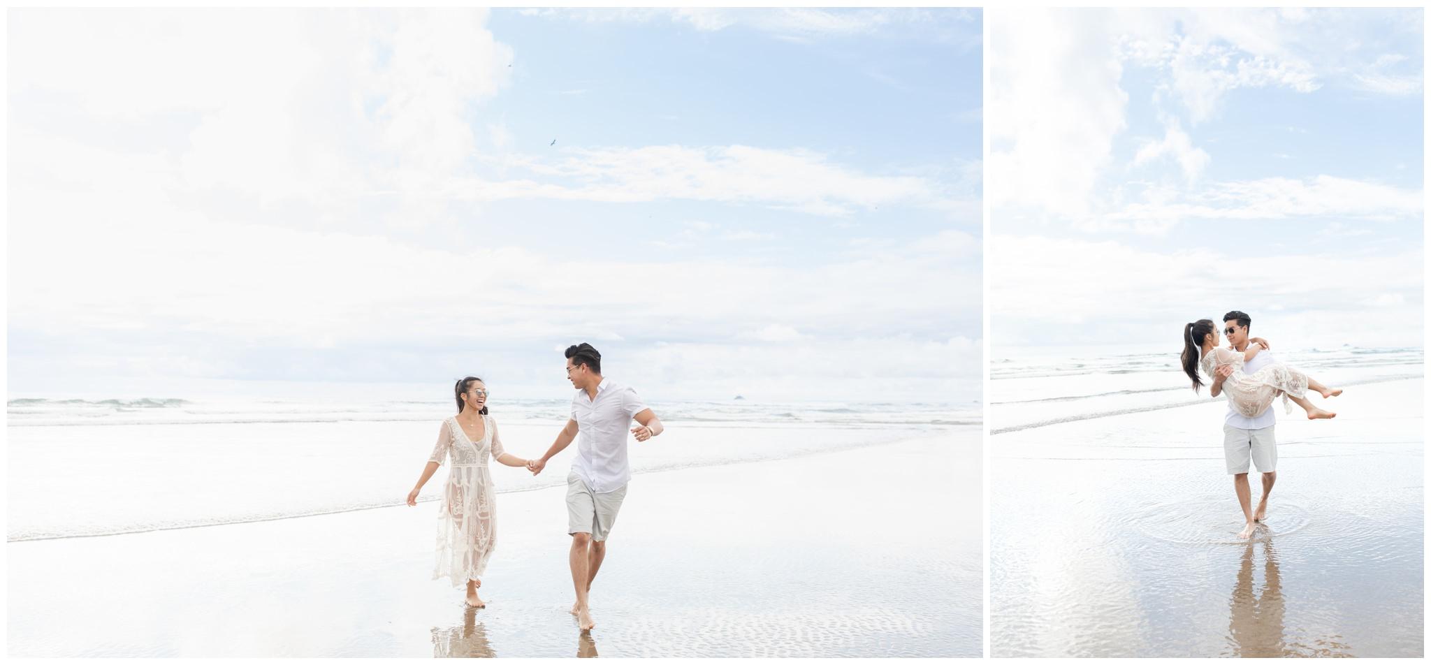 Couple beach photos