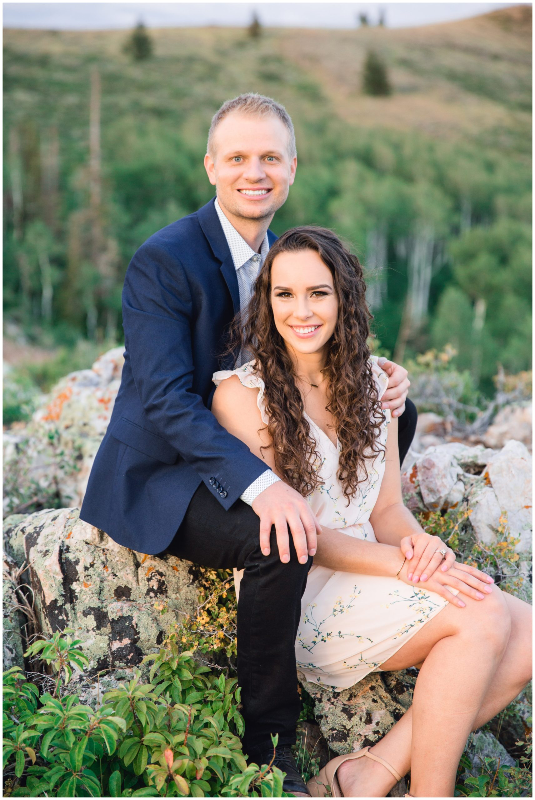 Park City Engagement session by Ciara Spring Photography