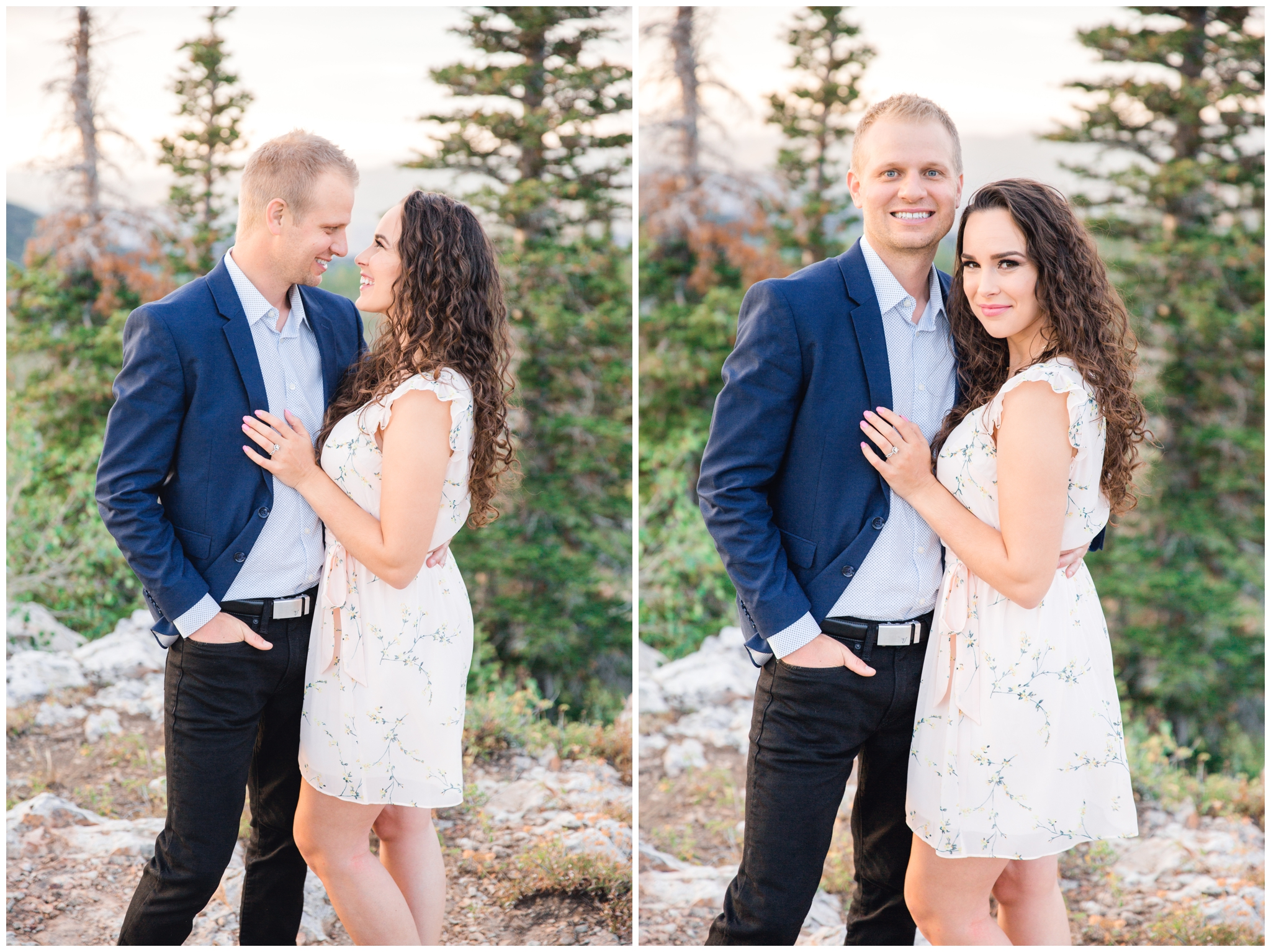 Engagement photos in Park City Utah