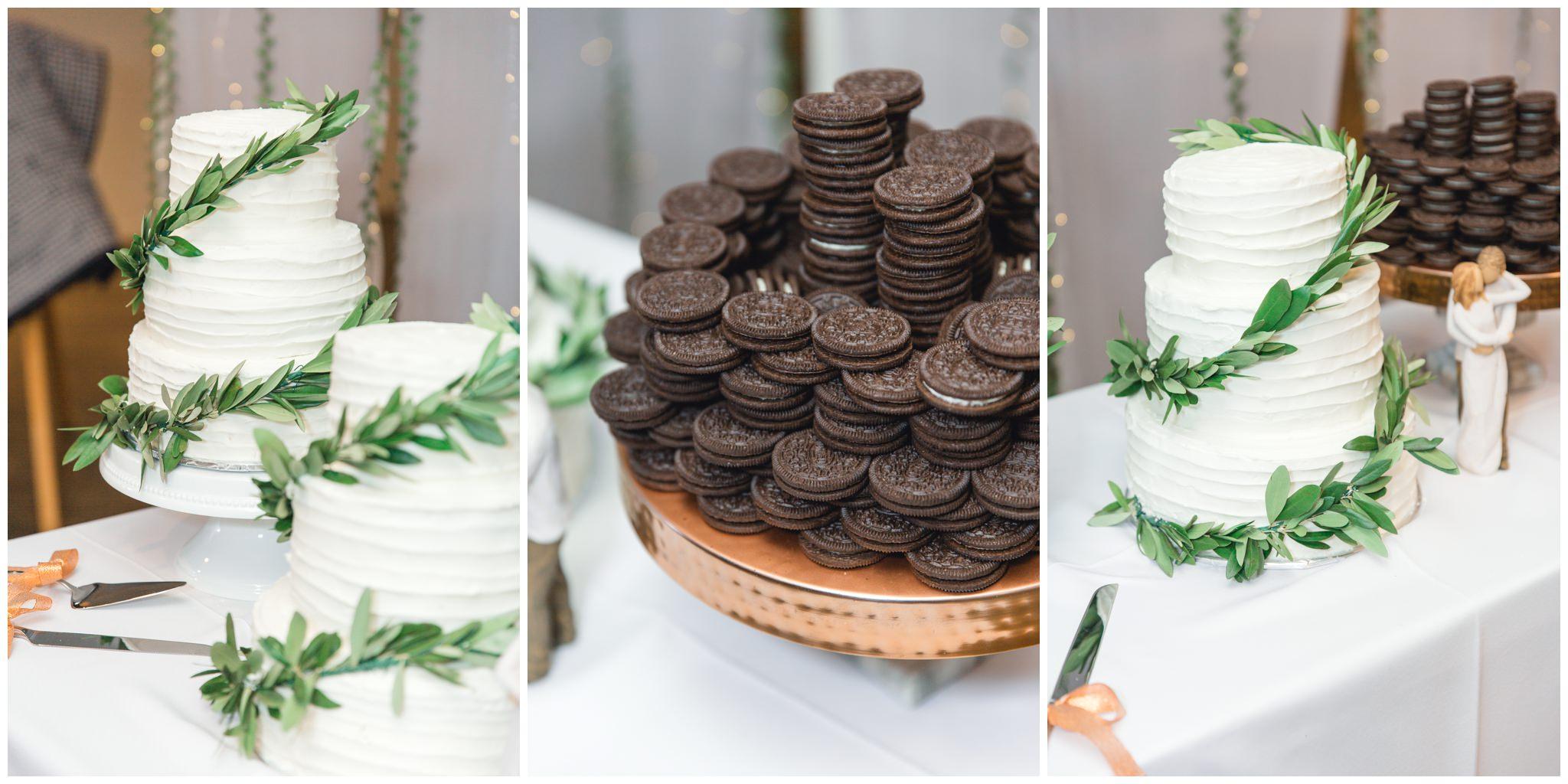 wedding cake at State House Venue in Orem, Utah