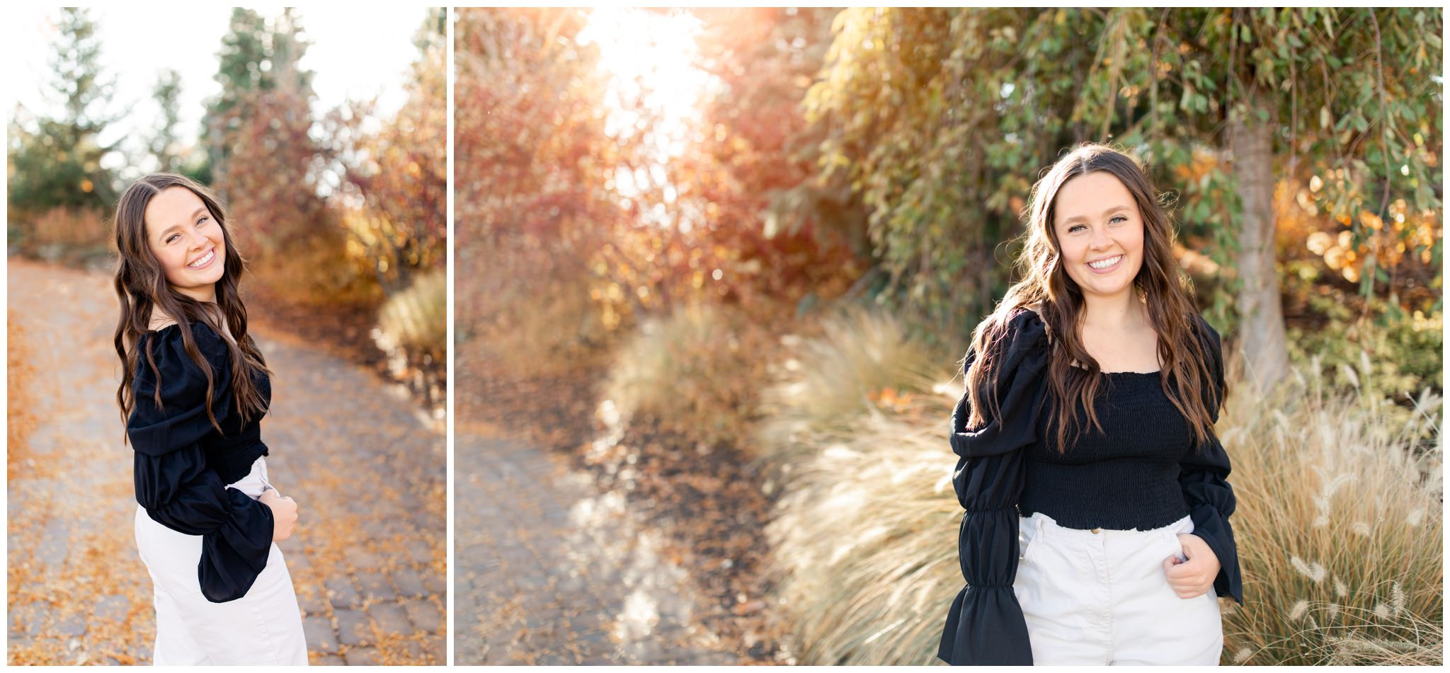 Idaho Falls and Rexburg senior pictures in the fall time