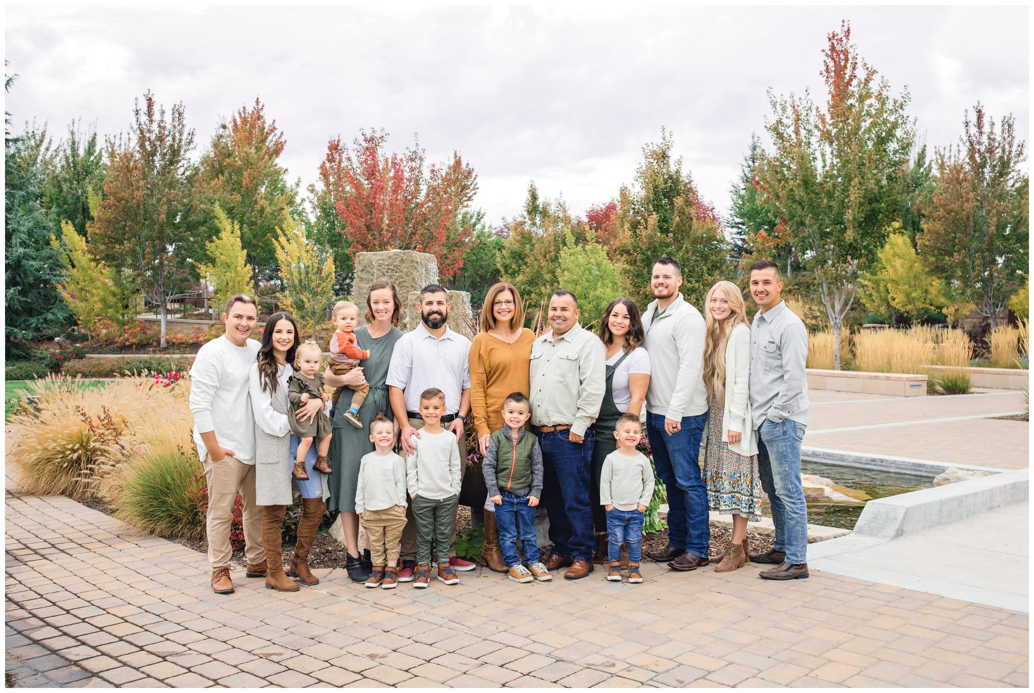 Extended family session in idaho falls idaho